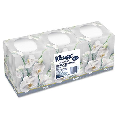 Kleenex BOUTIQUE WHITE FACIAL TISSUE, 2-PLY, POP-UP BOX, 95-BOX, 3 BOXES-PACK-Kleenex®-Omni Supply
