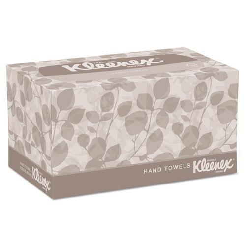 Kleenex Hand Towels, Pop-Up Box, Cloth, 9 X 10 1-2, 120-box, 18 Boxes-carton-Kleenex®-Omni Supply