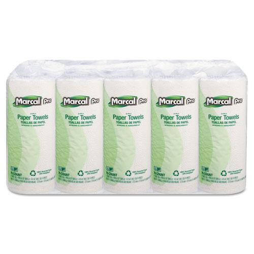 Marcal PRO; 100% Premium Recycled Perforated Towels-Marcal PRO-Omni Supply