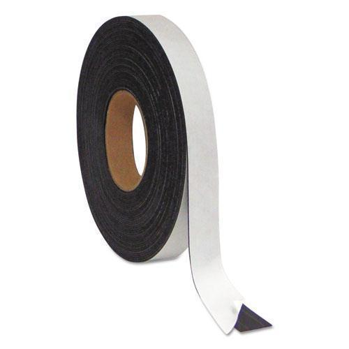 "MasterVisi Magnetic Adhesive Tape Roll, 1-2"" X 50 Ft., Black-MasterVision®-Omni Supply"