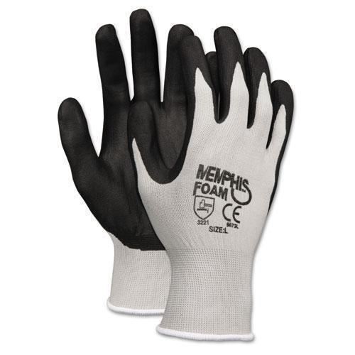 MCR Safety Economy Foam Nitrile Gloves, Small, Gray-black, 12 Pairs-MCR™ Safety-Omni Supply