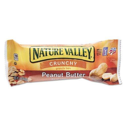 NaturVally GRANOLA BARS, PEANUT BUTTER CEREAL, 1.5OZ BAR, 18-BOX-Nature Valley®-Omni Supply