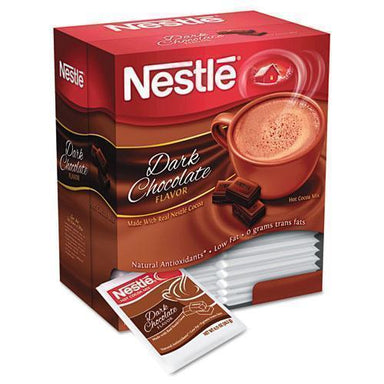 Nestle Hot Cocoa Mix, Dark Chocolate, 0.71 Oz, 50-box-Nestle®-Omni Supply