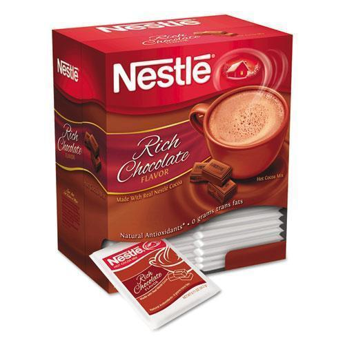 Nestle Hot Cocoa Mix, Rich Chocolate, 0.71 Oz Packets, 50-box, 6 Box-carton-Nestle®-Omni Supply