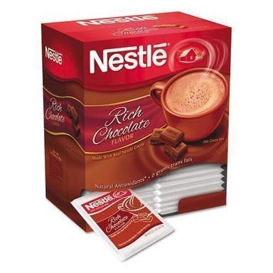 Nestle Hot Cocoa Mix, Rich Chocolate, .71oz, 50-box-Nestle®-Omni Supply