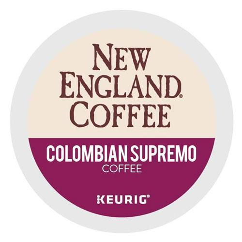 New Englan COLOMBIAN SUPREMO K-CUP PODS, 24-BOX-New England® Coffee-Omni Supply