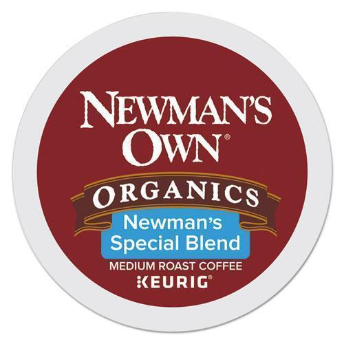 Newmans Newman's Own Special Blend, Extra Bold, Medium Roast K-Cups, 96-carton-Newman's Own® Organics-Omni Supply