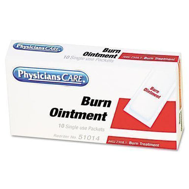 PhysicFAO First Aid Kit Refill Burn Cream Packets, 12-box-PhysiciansCare® by First Aid Only®-Omni Supply