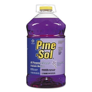 Pine-Sol All Purpose Cleaner, Lavender Clean, 144 Oz Bottle, 3-carton-Pine-Sol®-Omni Supply