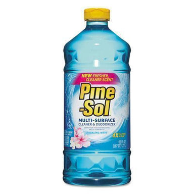 Pine-Sol Multi-Surface Cleaner, Sparkling Wave, 60 Oz, 6 Bottles-carton-Pine-Sol®-Omni Supply