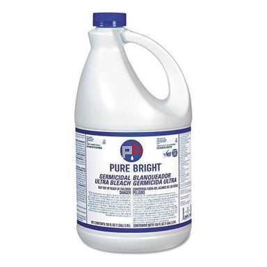 PureBright Liquid Bleach, 1gal Bottle, 3-carton-Pure Bright®-Omni Supply