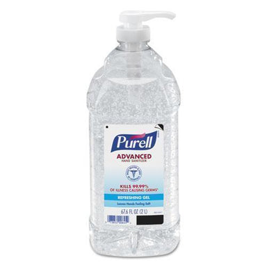 PURELL ADVANCED INSTANT HAND SANITIZER, 2 L BOTTLE-PURELL®-Omni Supply