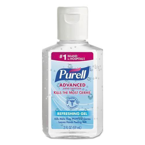 PURELL ADVANCED INSTANT HAND SANITIZER, 2 OZ, SQUEEZE BOTTLE, 24-CARTON-PURELL®-Omni Supply