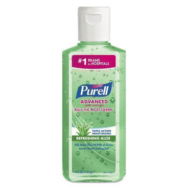 PURELL ADVANCED INSTANT HAND SANITIZER WITH ALOE, 4 OZ FLIP-CAP BOTTLE-PURELL®-Omni Supply
