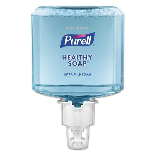 PURELL HEALTHCARE HEALTHY SOAP GENTLE AND FREE FOAM, 1200 ML, FOR ES6 DISPENSERS, 2-CT-PURELL®-Omni Supply
