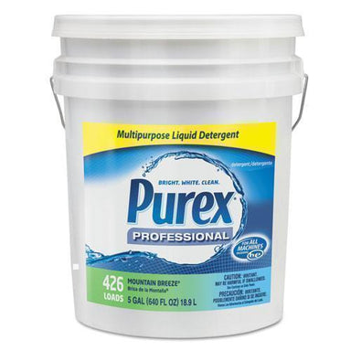 Purex Liquid Laundry Detergent, Mountain Breeze, 5 Gal. Pail-Purex®-Omni Supply