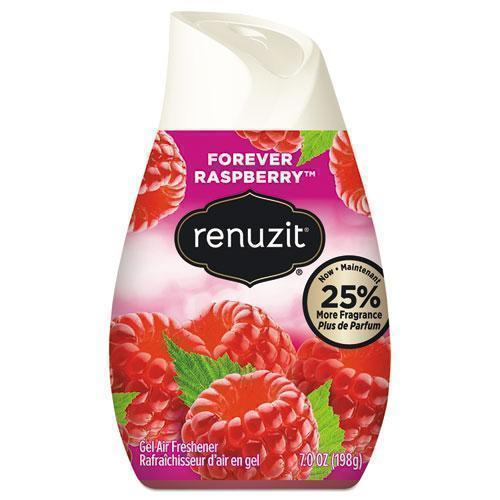 Renuzit Adjustables Air Freshener, Forever Raspberry, Solid, 7 Oz Cone, 12-carton-Renuzit®-Omni Supply