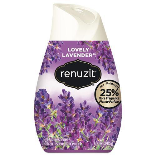 Renuzit ADJUSTABLES AIR FRESHENER, LOVELY LAVENDER, SOLID, 7 OZ, 12-CARTON-Renuzit®-Omni Supply