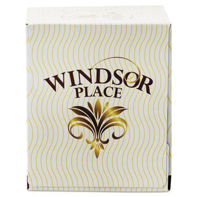 Resolute WINDSOR PLACE CUBE FACIAL TISSUE, 2-PLY,7 2-5 X 8 1-5, 85-BOX, 30 BOX-CARTON-Resolute Tissue-Omni Supply