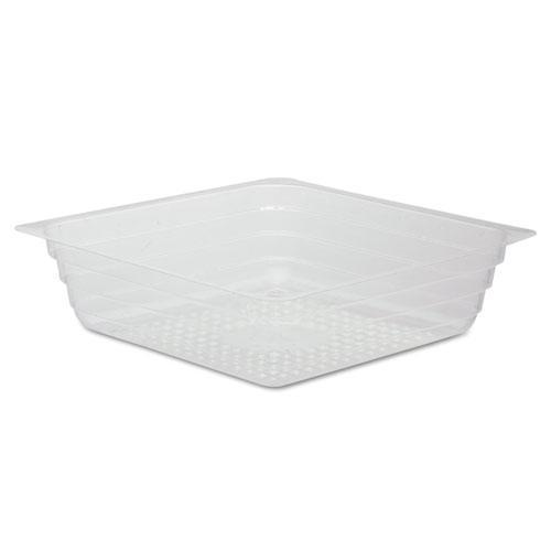 Reynolds Reflections Portion Plastic Trays, Shallow, Clear, 3-1-2x3-1-2x1, 4oz, 2500-ct-Reynolds®-Omni Supply