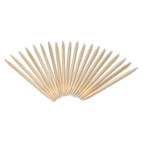 "Royal Round Wood Toothpicks, 2 1-2"", Natural, 800-Box, 24 Boxes-Carton-Royal-Omni Supply"