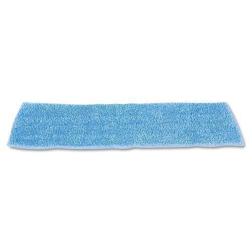 "Rubbermaid Economy Wet Mopping Pad, Microfiber, 18"", Blue-Rubbermaid® Commercial-Omni Supply"