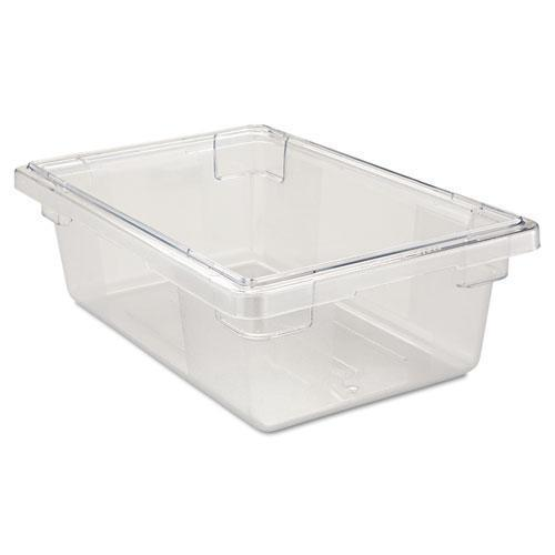 Rubbermaid Food-tote Boxes, 3 1-2gal, 18w X 12d X 6h, Clear-Rubbermaid® Commercial-Omni Supply