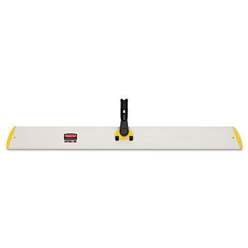 Rubbermaid Hygen Quick Connect Single-Sided Frame, 36 1-10w X 3 1-2d, Yellow-Rubbermaid® Commercial HYGEN™-Omni Supply