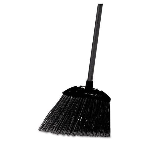 "Rubbermaid Lobby Pro Broom, Poly Bristles, 35"" Metal Handle, Black-Rubbermaid® Commercial-Omni Supply"
