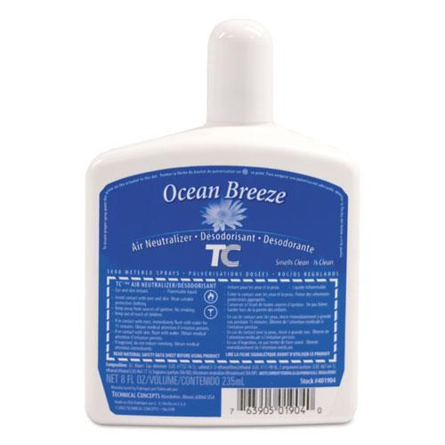 Rubbermaid PUMP AIR FRESHENER REFILL, OCEAN BREEZE, 8 OZ, 12-CARTON-Rubbermaid® Commercial-Omni Supply