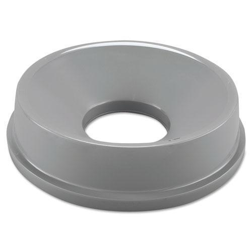 Rubbermaid Untouchable Funnel Top, Round, 16 1-4 Diameter, Gray-Rubbermaid® Commercial-Omni Supply