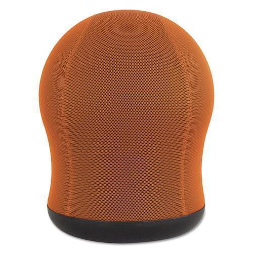 "Safco Zenergy Swivel Ball Chair, 17 1-2"" Diameter X 23"" High, Orange Mesh-Safco®-Omni Supply"