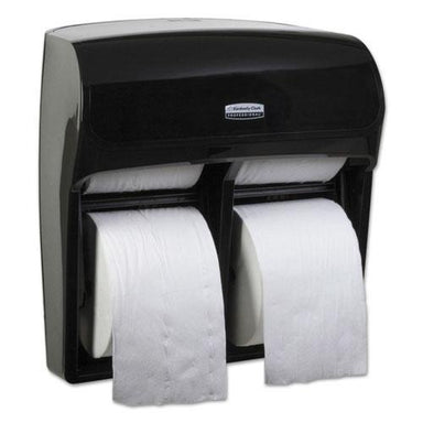 Scott PRO HIGH CAPACITY CORELESS SRB TISSUE DISPENSER, 11 1-4 X 6 5-16 X 12 3-4, BLACK-Scott®-Omni Supply