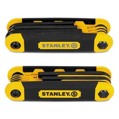 Stanley Folding Metric And Sae Hex Keys, 2-pk-Stanley®-Omni Supply
