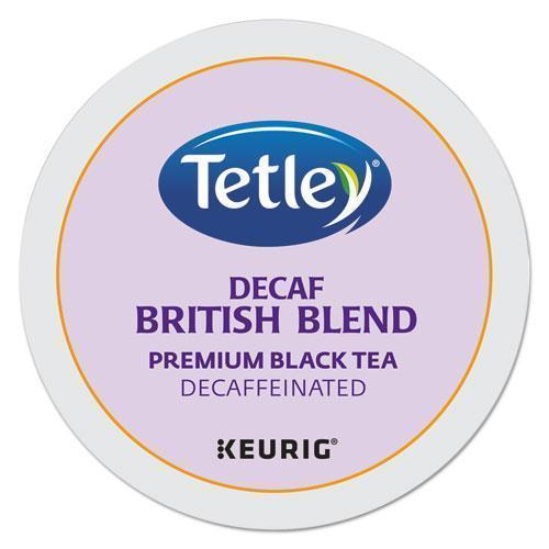 Tetley British Blend Decaf Tea K-Cups-Tetley®-Omni Supply