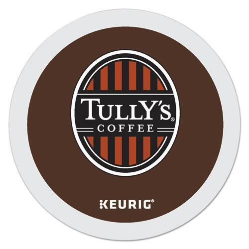Tully'sCof Breakfast Blend Coffee K-Cups, 96-carton-Tully's Coffee®-Omni Supply