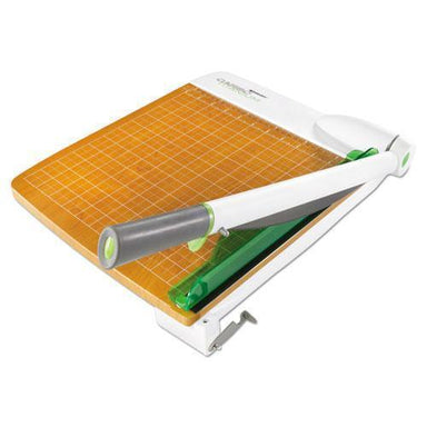 "Westcott Carbotitanium Guillotine Paper Trimmers, 30 Sheets, 12"" Cut Length, 14"" X 22""-Westcott®-Omni Supply"