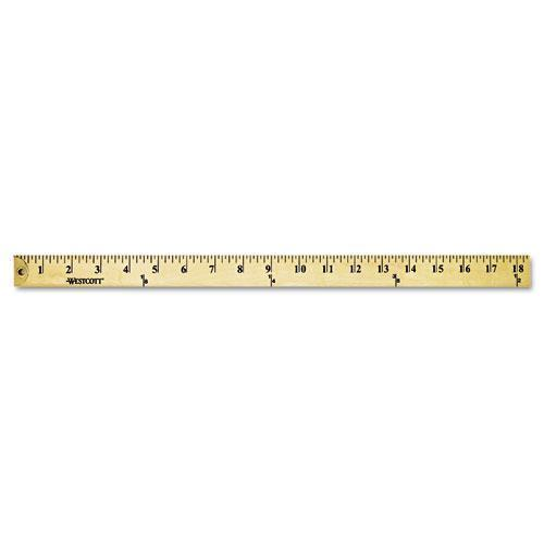 "Westcott Wood Yardstick With Metal Ends, 36""-Westcott®-Omni Supply"