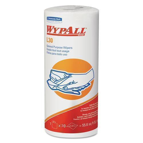Wypall L30 Towels, 11 X 10.4, White-WypAll®-Omni Supply