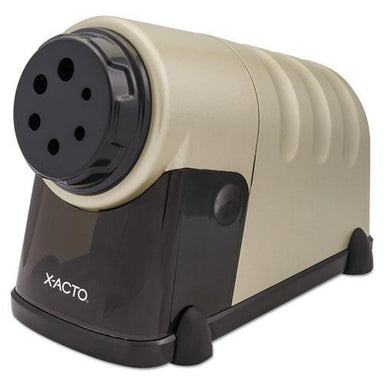 X-ACTO High-Volume Commercial Desktop Electric Pencil Sharpener, Beige-X-ACTO®-Omni Supply
