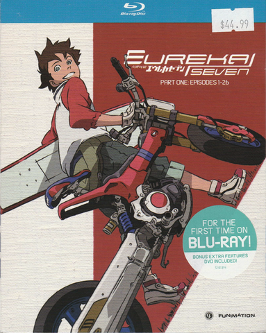 Eureka Seven Part 1 Blu-Ray