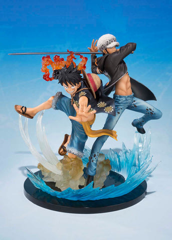 One Piece: Monkey D Luffy and Trafalgar Law Figuarts Zero 5th Anniversary Figure