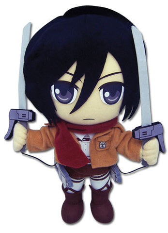"Attack on Titan: Mikasa 8"" Plush"