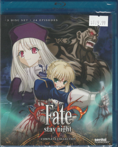 Fate/Stay Night Complete Collection Blu-ray
