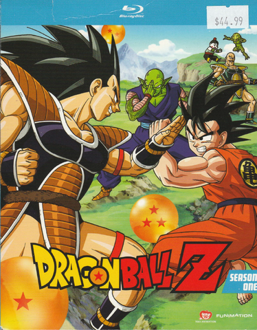 Dragonball Z Season 1 Blu-ray