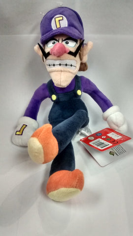 "Super Mario Bros.: Waluigi 11"" Plush"