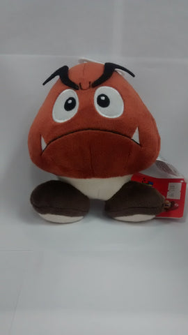 "Super Mario Bros.:  Goomba 5"" Plush"