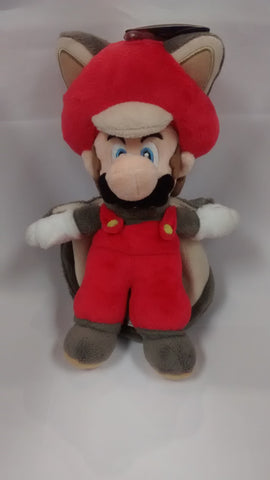 "Super Mario Bros.: Flying Squirrel Mario 9"" Plush"