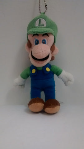 "Super Mario Bros.:  Luigi 5"" Plush Key Chain"