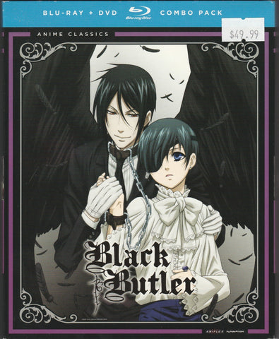 Black Butler Complete First Season Blu-ray/DVD Combo Pack